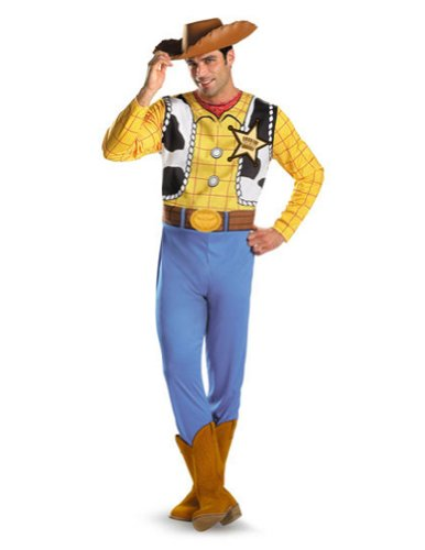 Adult-Costume Woody Adult Classic 42-46 Halloween Costume - Adult 42-46