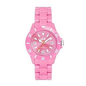 Ice-Watch CS.PK.S.P.10 - Reloj analógico de mujer de cuarzo con correa de plástico rosa - sumergible a 50 metros