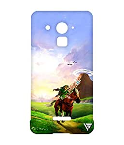 Vogueshell Prince On Horse Printed Symmetry PRO Series Hard Back Case for Coolpad Note 3 Lite