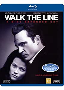 Walk The Line: 2 Disc Extended Cut (Blu-ray) (Region Free) (2005) (Import)