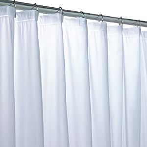 Frosty Clear Vinyl Shower Curtain Liner Clear Plastic Shower Curtain