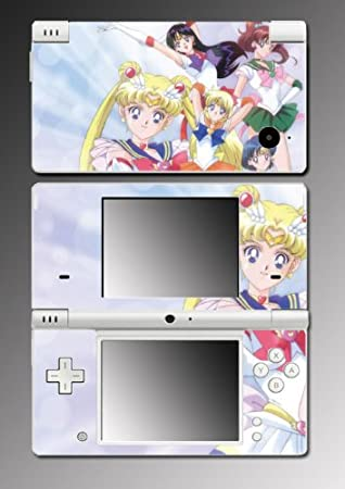 Sailor Moon Jupiter Mars game Vinyl Decal Skin Protector Cover for Nintendo DSi