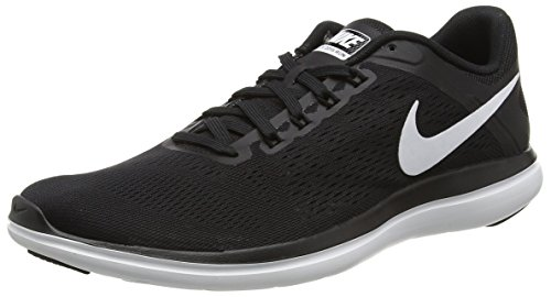 Nike Women's Flex 2016 Rn Black/White/Cool Grey Running Shoe 8.5 Women US