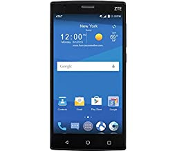 ZTE Z Max 2 16GB Unlocked GSM 4G LTE Quad-Core Android Smartphone w/ 8MP Camera - Black