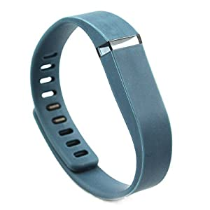 Replacement Wrist Band for Fitbit Flex (Slate, Small)