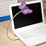 Renata LED Flyte USB - Cool White Light - Purple