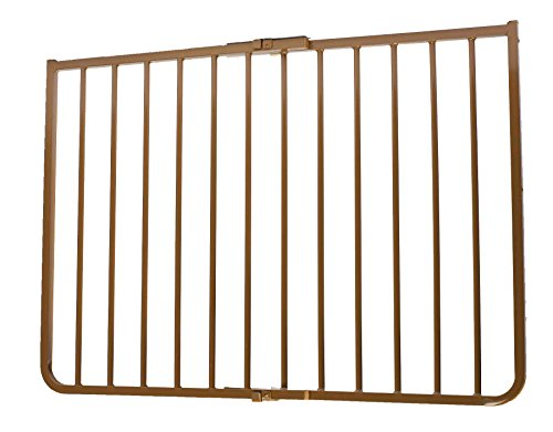 Cardinal Gates Outdoor Safety Gate, Brown (Outdoor Stairway Gate compare prices)