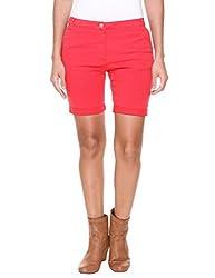 Alibi Women's Shorts (ALBR000107D_32_Orange_32)