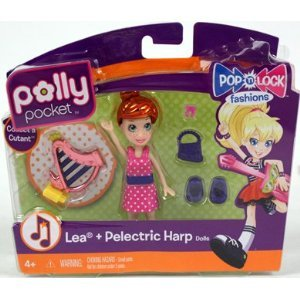 Polly Pocket Pop n Lock Fashions Lea & Pelectric Harp Doll at Sears.com
