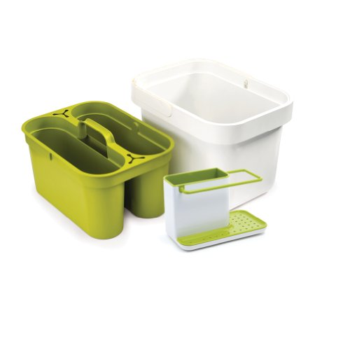 joseph joseph clean store and caddy sink combo green home garden kitchen dining kitchen tools. Black Bedroom Furniture Sets. Home Design Ideas