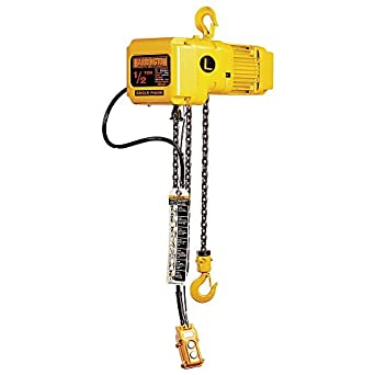 3 Ton 1 Ph Electric Hoist With 15ft Lift