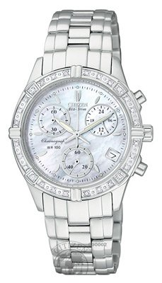 Citizen Women&#8217;s FB1180-56D Eco-Drive Miramar Stainless Steel Sport Watch