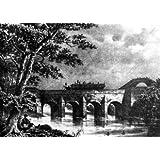 Grabado antiguo (1886) - Litografía - Paso Del Canal Ymperial (Sic) Rio Jalón.- Aragón (17x23), Desconocido