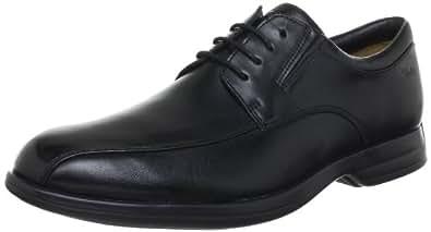 Clarks General Over5, Chaussures à lacets homme - Noir (Black Leather), 47 EU (12 UK)