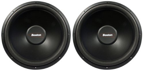 "Pair Of (2) Boston Acoustics G215-44 15"" 1200 Watt Dual 4 Ohm G2 Series Subwoofers"