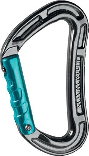 Mammut-Bionic-Key-Lock-Straight-Gate-Karabiner-Basalt-one-size