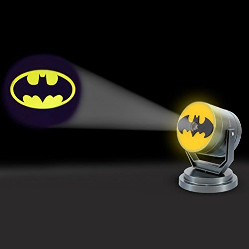 DC ufficiale Batman Bat Simbolo proiezione notte della luce - Boxed chiamata Batman