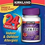 Kirkland Signature Aller-Fex 180 mg - 120 Tablets