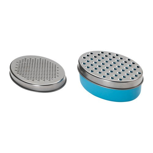 Ikea 501.531.80 Chosigt Grater with Container, Blue (Core Cheese Grater compare prices)