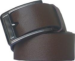 Sondagar Arts Men's Belt (SAB71_Brown_34)