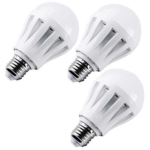 Slickblue Pack Of 3 Ultra Bright Globe Led Lamp Bulb Light (E14) (5W, Cool White)