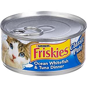 Buy friskies ocean whitefish tuna dinner cat food 5 5 oz for Friskies cat fishing
