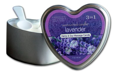 Lavender Moistuiser & Massage Aroma Candle. A Calming Aroma & 100% Natural Hemp skincareGreat Results for Dry Skin ! Paraben Free