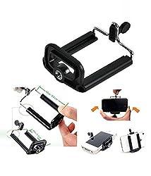 Powerpak Camera Stand Clip Bracket Holder Tripod Monopod Mount Adapter for Mobile Phone