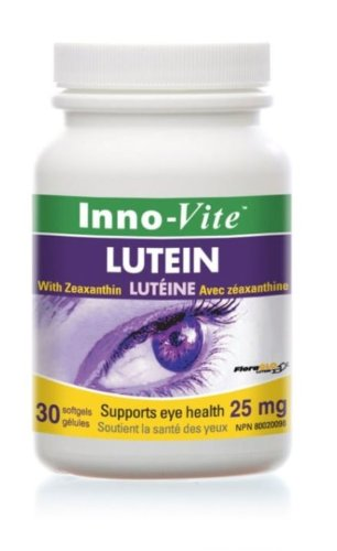 Lutein 25mg (30Capsules) Brand: Innovite cvs pharmacy radiance lutein 20 mg 60 softgels