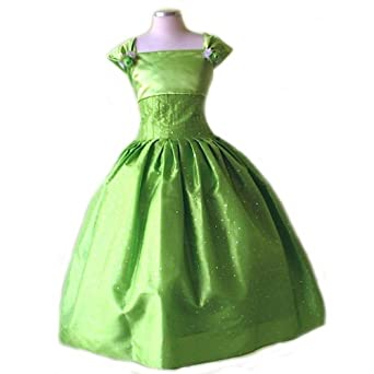 Amazon com size 8 girl green christmas dress with sequins size 2