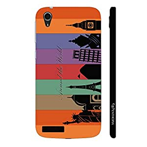 Enthopia Designer Hardshell Case Seven Wonders Back Cover for Lenovo A3900