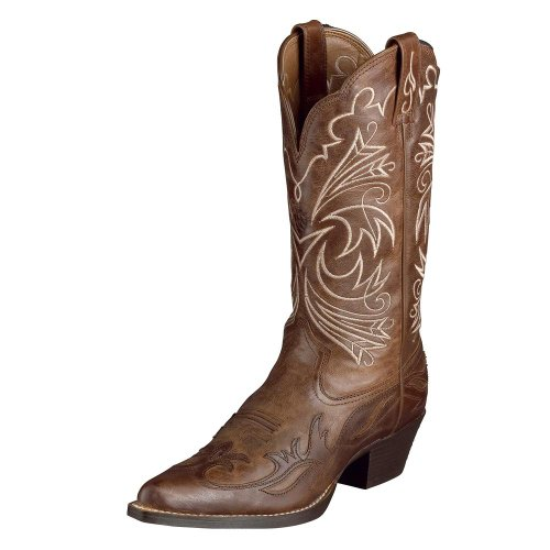 Ariat Women's Heritage Western J Toe Wing Tip Boot