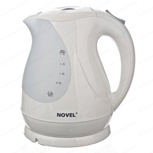 Novel 1.5 Liter 1800 Watts Cordless Electric Kettle