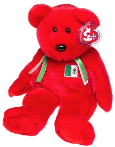 Ty Beanie Buddies Osito - Mexican Bear (Amigo Bear compare prices)
