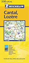 Cantal/Lozere (Michelin Local Maps)