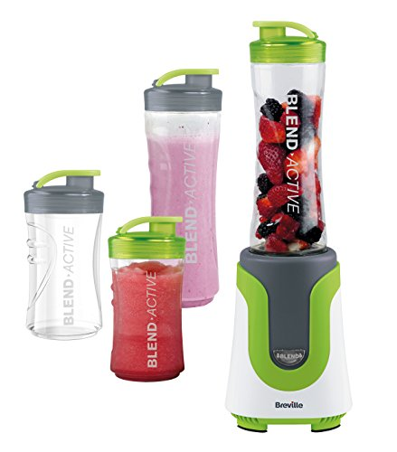 Breville-VBL096-Blend-Active-Personal-Blender-Family-Pack-WhiteGreen