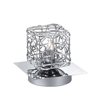 trio leuchten 594610106 lampe lampe touch me avec 1 ampoule g9 28 w w 4 niveaux d 39 intensit. Black Bedroom Furniture Sets. Home Design Ideas