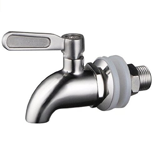 Cheapest Price! Nihao®SSS010 Stainless Steel Beverage Drink Dispenser Wine Barrel Spigot/Faucet/Tap
