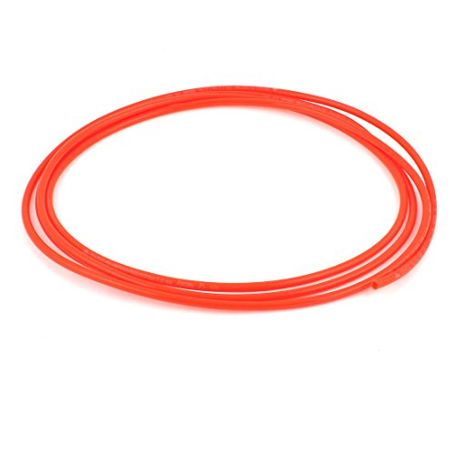 uxcell Polyurethane PU Air Compressor Hose Tube 3 Meter 6mm x 4mm Red (3 4 Compressed Air Hose compare prices)