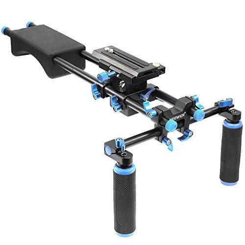 neewer-portable-filmmaker-system-with-camera-camcorder-mount-slider-soft-rubber-shoulder-pad-and-dua