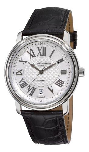 Frederique Constant Men's FC-303NM4P6 Persuasion Heart Beat Silver Roman Numerals Dial Watch
