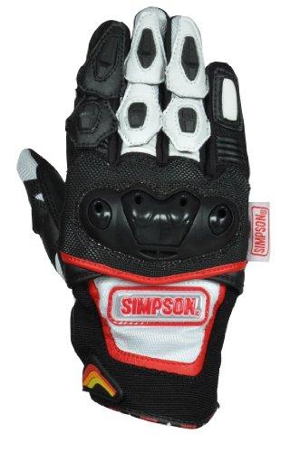シンプソン(SIMPSON) メッシュグローブ WH LL SG-3151/WH/LL