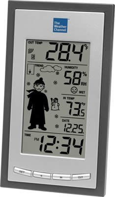 Cheap La Crosse Technology The Weather Channel WS-9630TWC-IT Wireless Forecast Station with Advanced Icon (WS-9630TWC-IT-TBP)