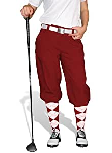 amazoncom maroon golf knickers ladies par 3