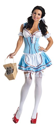 Partyking Womens Kansas Cutie Body Shaper Wizard Outfit Fancy Dress Sexy Costume