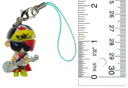 "Jimmy Wawa: ~1.5"" Punkstar Frenzies by Tokidoki Mini-Figure Charm"