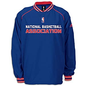 NBA Basketball Mens Pullover Hot Jacket, Blue (Large)