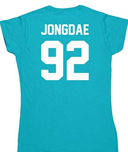 hippowarehouse-jongdae-92-printed-on-the-back-womens-fitted-short-sleeve-t-shirt