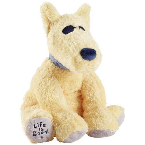 Life Is Good Rocket Plush, Mosaic Gold, One Size front-132828
