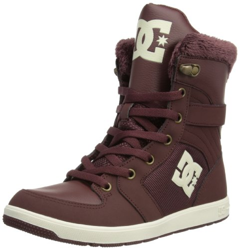 DC Shoes Womens Stratton Skateboarding Shoes D0302866 Dark Chocolate 3 UK, 36 EU, 5 US